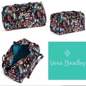 Vera Bradley Splash Floral Large Duffel Bag
